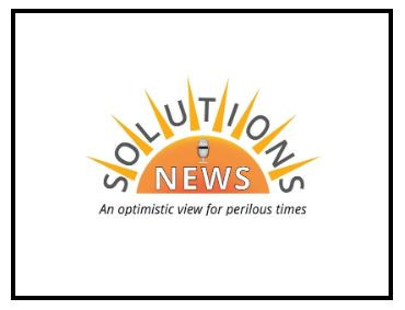 Thank you Solutions News!