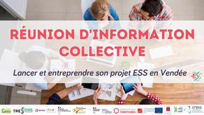Réunion d'information collective - Lancer et entreprendre son projet ESS en Vendée