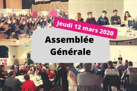 Assemblée Générale le 12 mars 2020