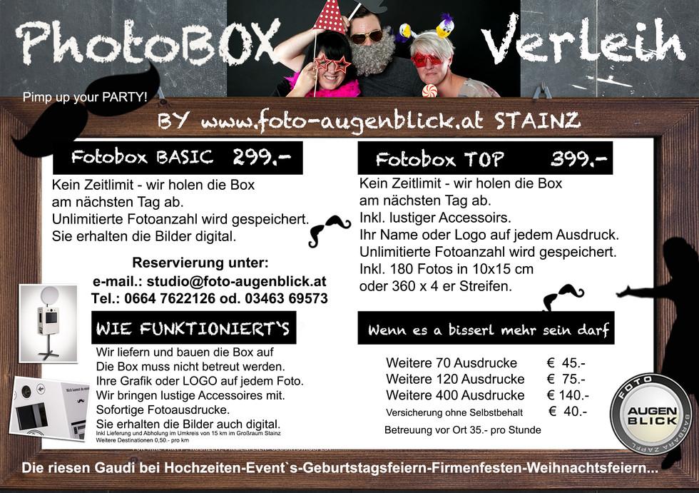 Fotobox Foto Augenblick