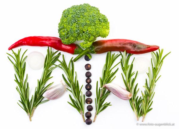 Gemüse Foto Augenblick