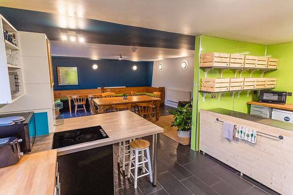 Highland Basecamp Lochaline Self Catering Lounge