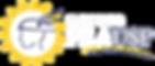 Logo horizontal - para fundo escuro (fun