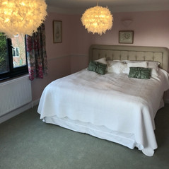 Complete redecoration of bedroom in Over