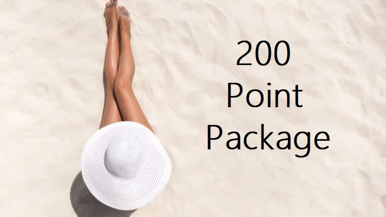 200 Point Package