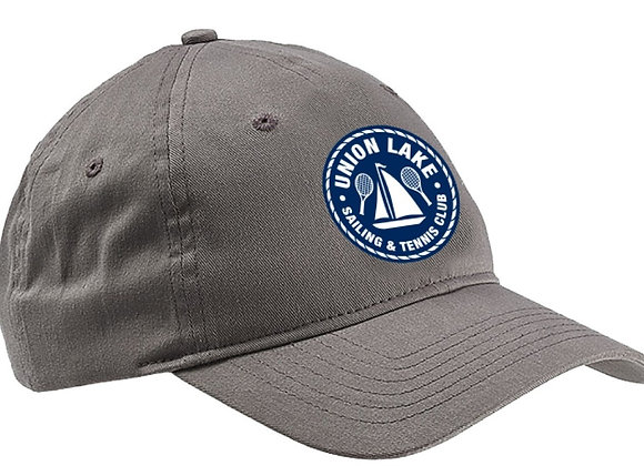 6 Panel Twill Cap (Unisex Fit, 100% Brushed Cotton Twill )
