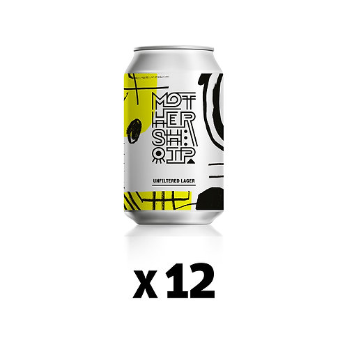 12 x Unfiltered Lager