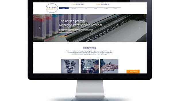 New Look Website for Fastek Managed Print