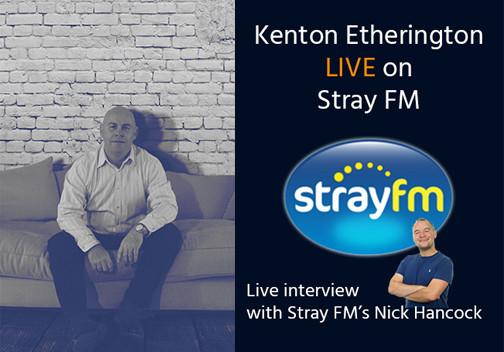 Fastek's Kenton Etherington, Live on Stray FM