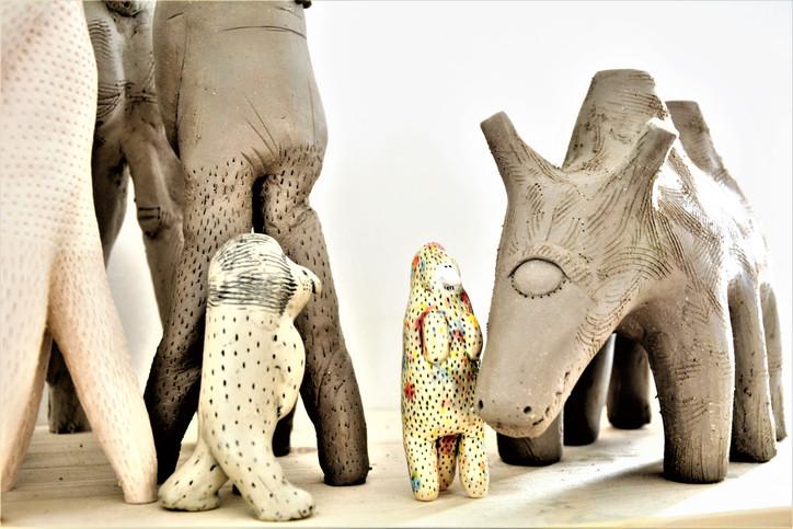 Giraffen und andere Sechsbeiner