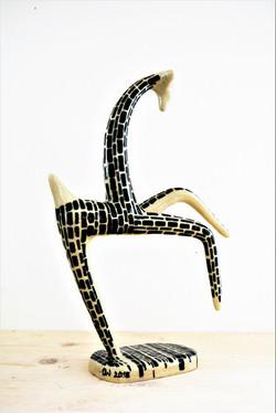 Giraffe, designed für 300 Jahre Augarten, Steinzeug, 2018