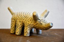 Tier, sechsbeinig, Steinzeug, 2018