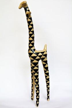 Giraffe, Steinzeug, 2018