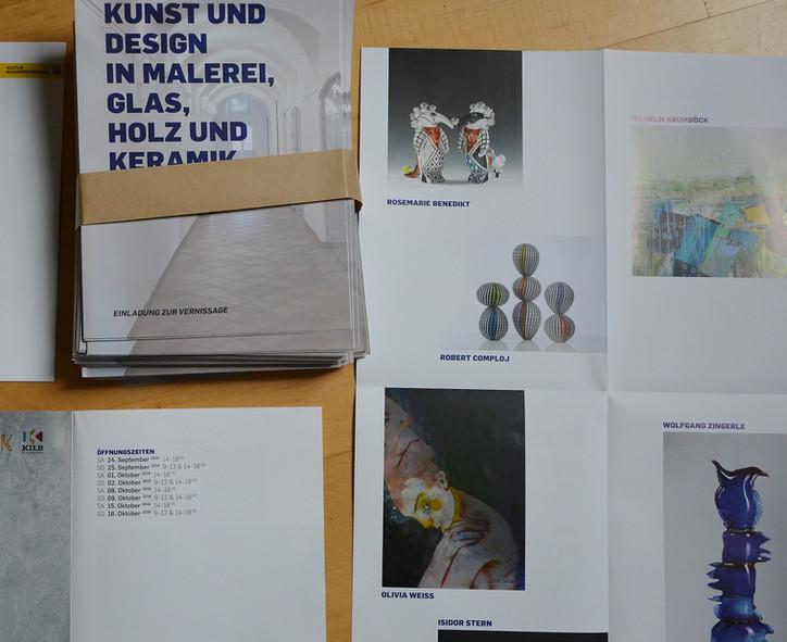 Kunst und Design in Malerei, Glas, Holz und Keramik