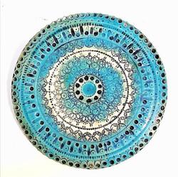 Porzellanplatte, Ornament