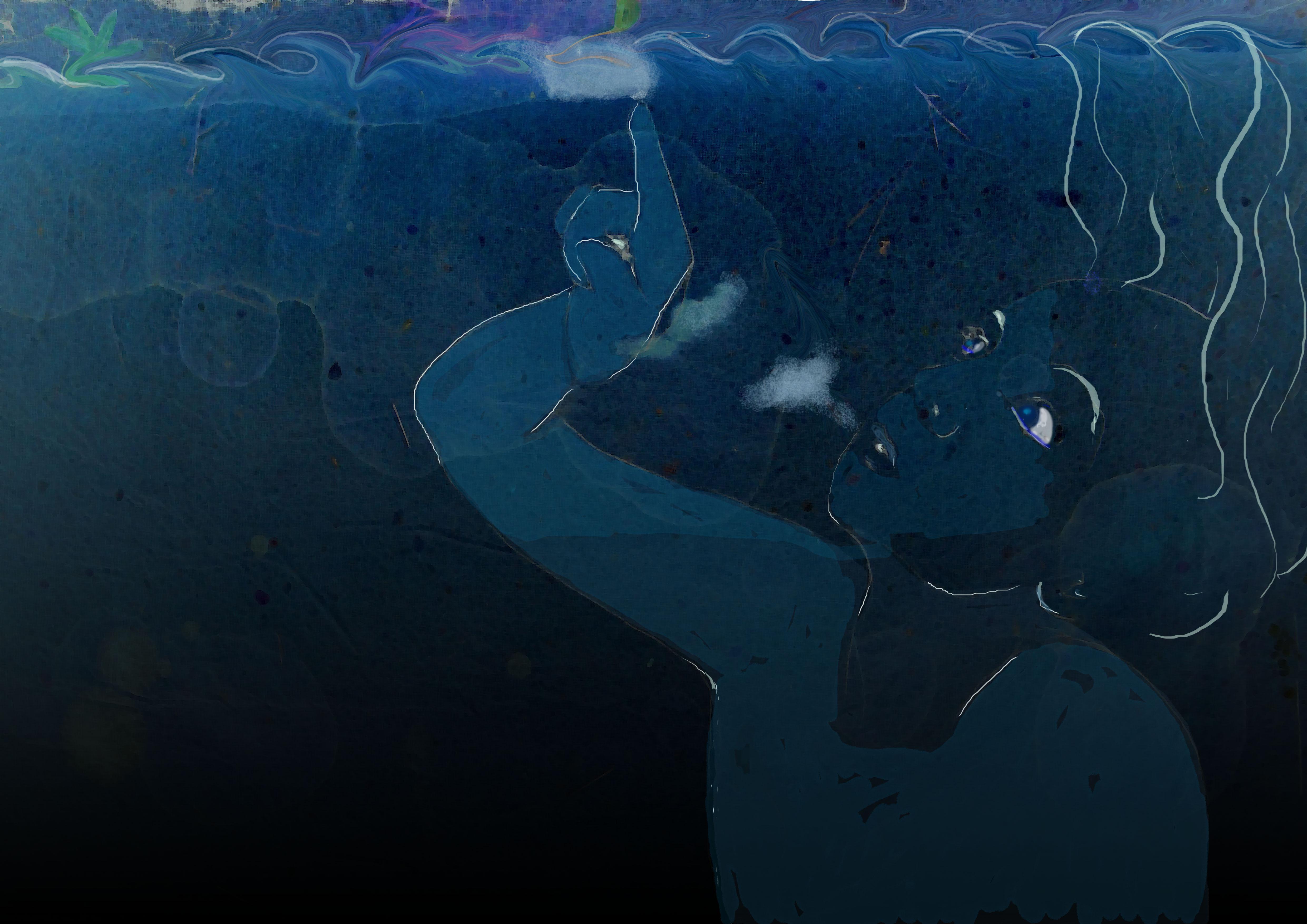 """""""Unter Wasser"""", Olivia Weiss"""