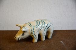 Miniwildschwein, sechsbeinig, Steinzeug, 2018