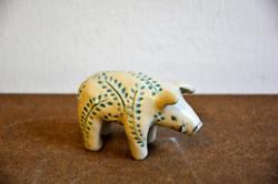 Miniwilschwein, Steinzeug, 2018