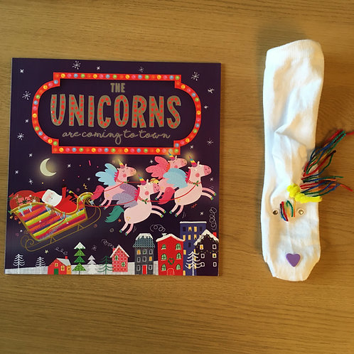 The Unicorns are Coming to Town - Unicorn Sock Puppet