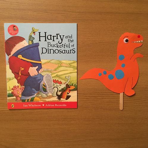 Dinosaur Puppet + Harry and the Dinosaurs