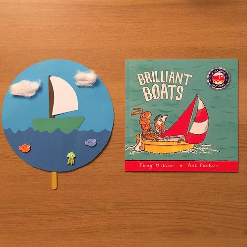 Bobbing Boat & Brilliant Boats book