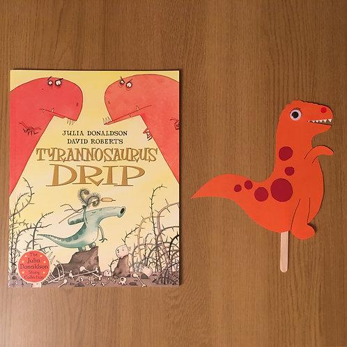 Dinosaur Puppet + Tyrannosaurus Drip