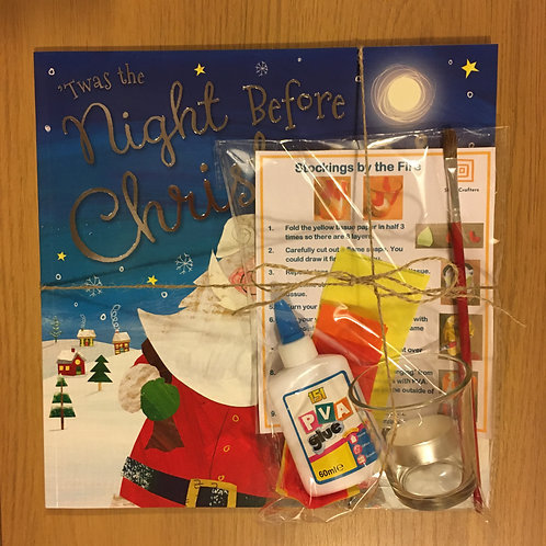 Twas The Night Before Christmas - Candle Holder Craft
