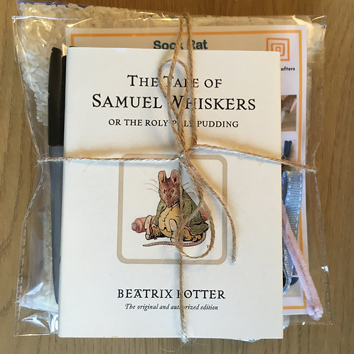 Samuel Whiskers - Sock Rat
