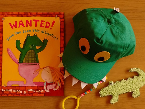 Wanted! Have You Seen This Alligator? - Craft Box