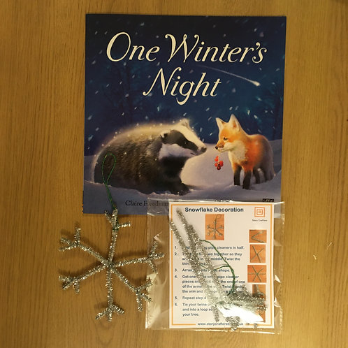 One Winter's Night - Snowflake craft