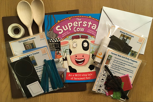 Superstar Cow - Craft Box