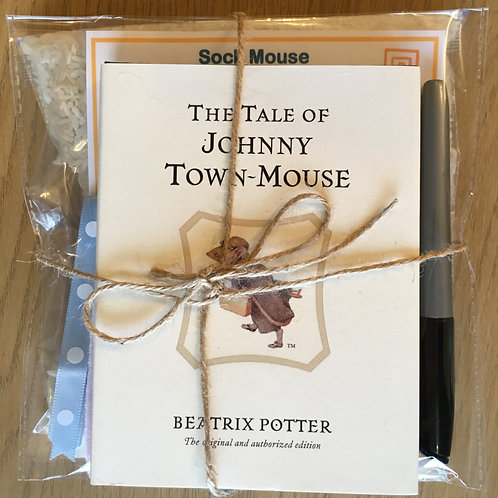 Johnny Town-Mouse - Sock Mouse