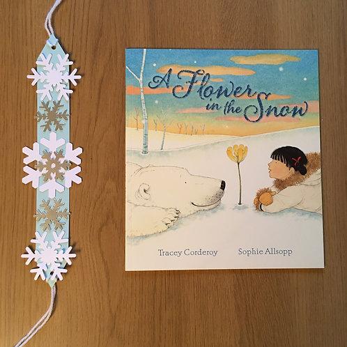 Flower in the Snow - Snowflake Headband