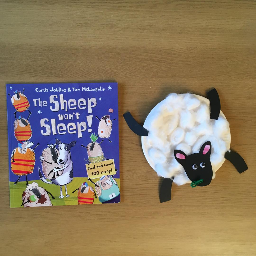 Sheep and book.JPG