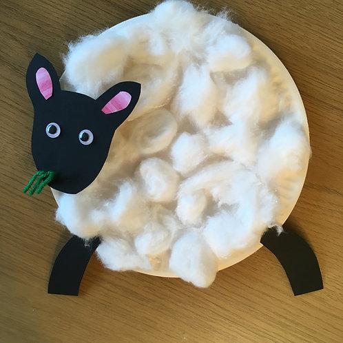 Fluffy Sheep Craft Kit