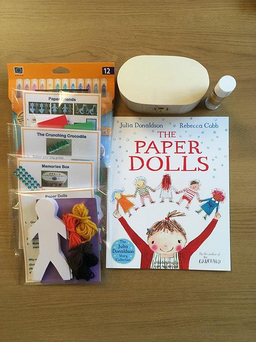 The Paper Dolls - Craft Box