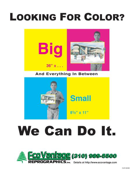 Econovantage Flier/Ad