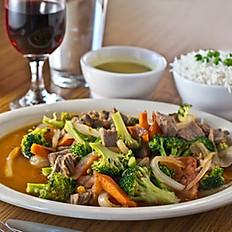 Tibetan Beef and Broccoli