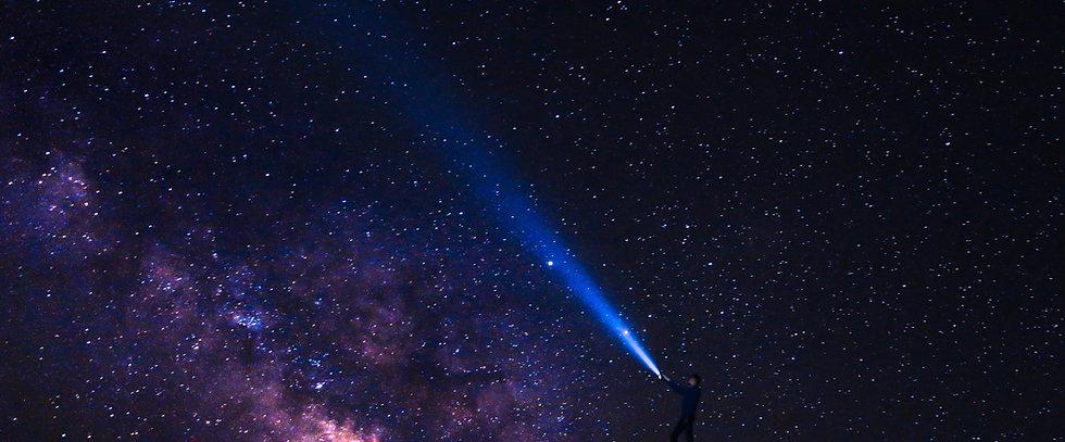 night sky dark matter