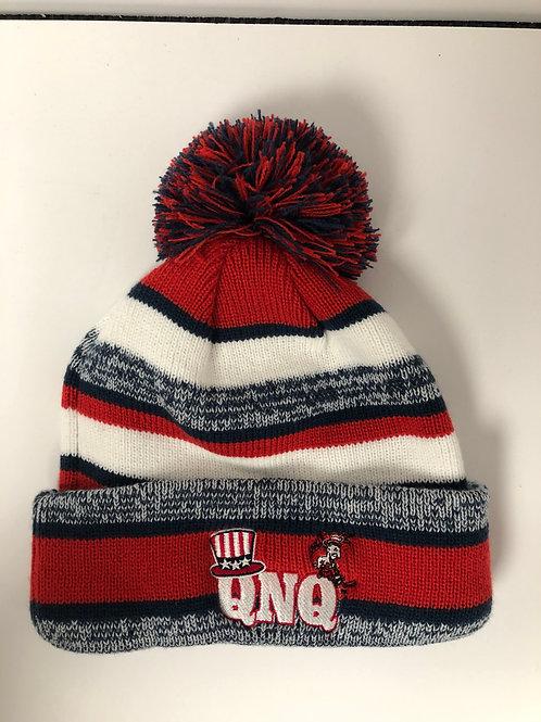 New Era Knit Hat  Q.N.Q.