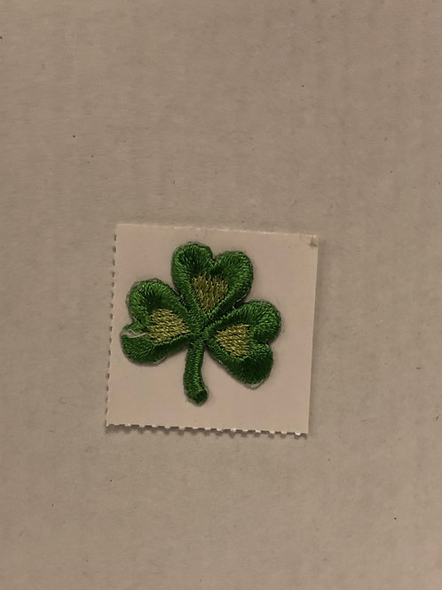 Embroidered Shamrock