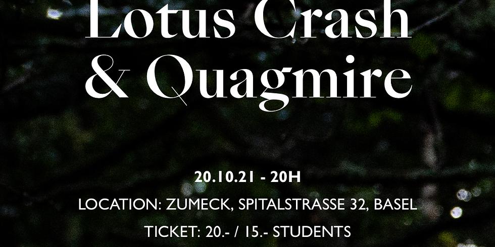 Lotus Crash & QUAGMIRE