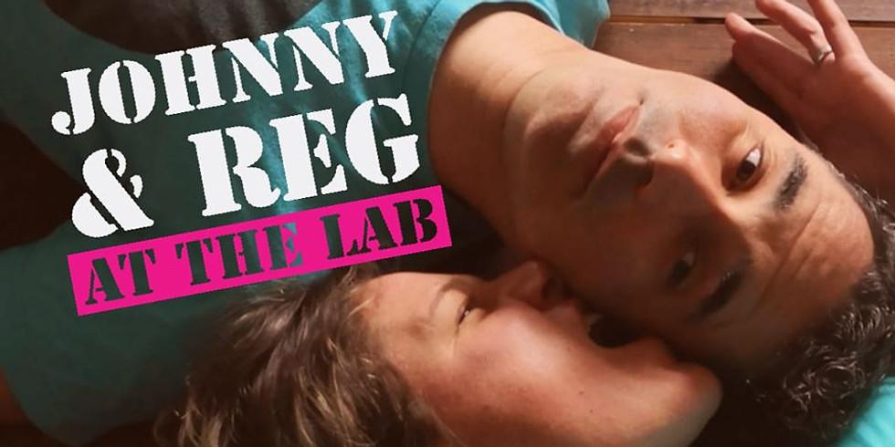 Johnny & Reg - Garden gig