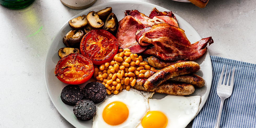 Dinner at The Lab - English Breakfast