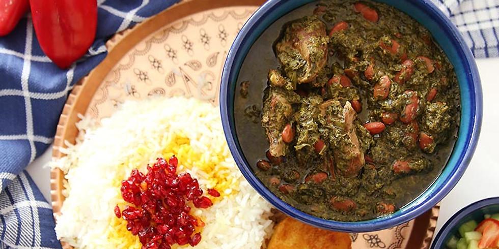 Dinner at The Lab - Persian Ghorme-Sabzi