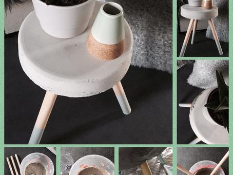 DOE-HET-ZELF Tafeltje van beton