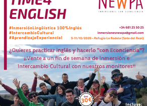 Time4english: 6ª edición para participantes