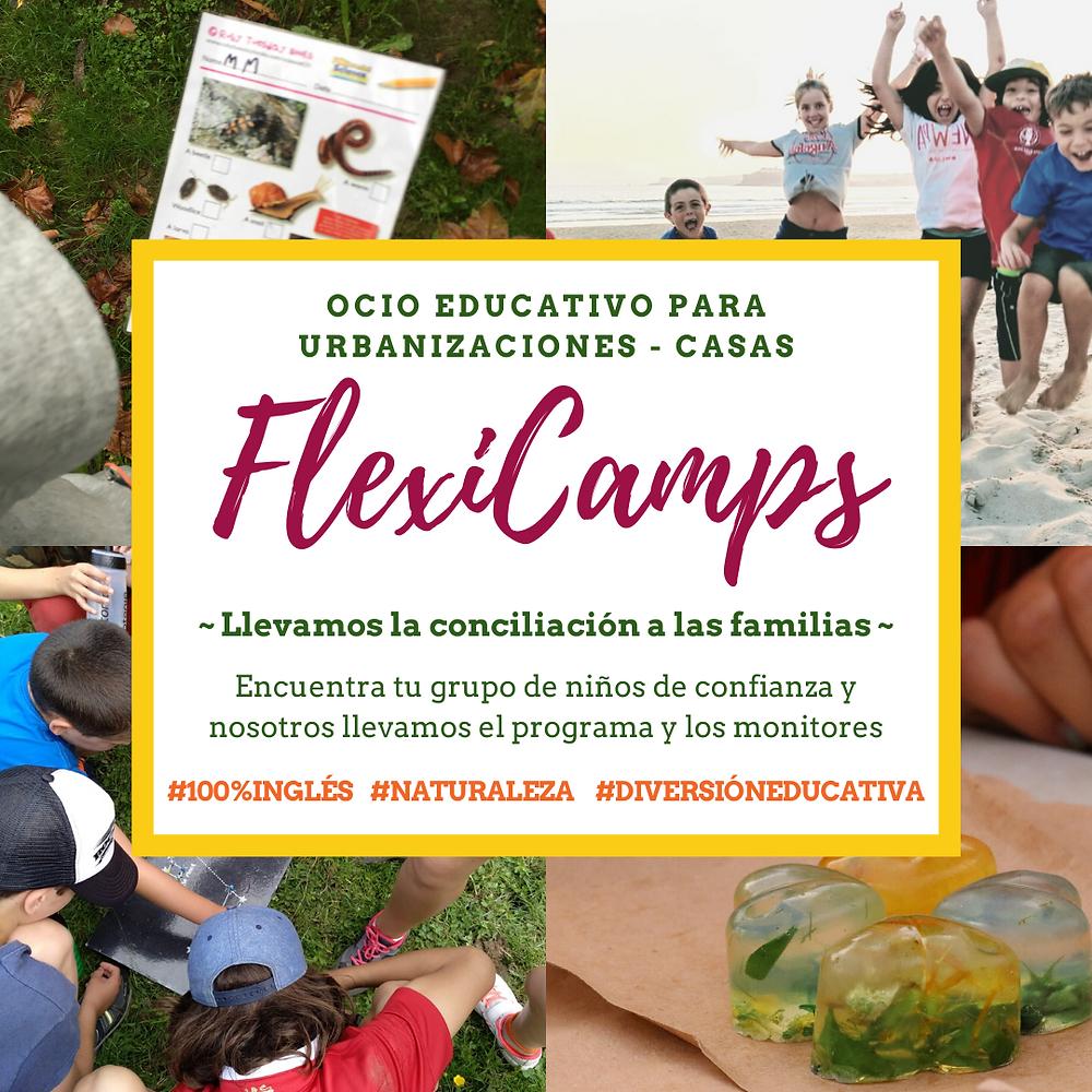 Flexicamps Campamentos a medida