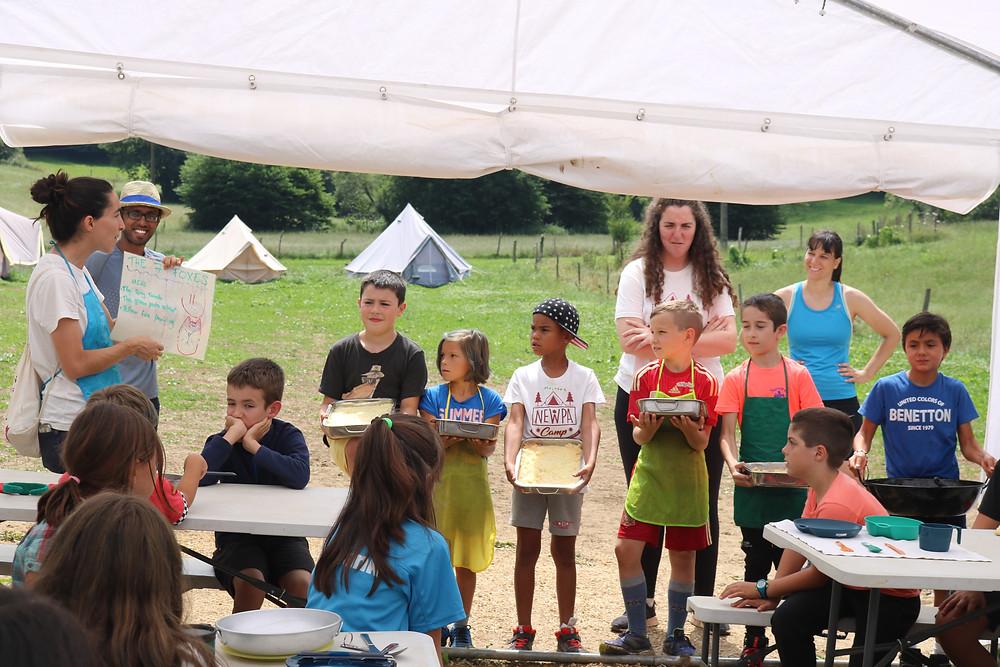 Masterchef actividades campamentos niños NewPa Inmersiones