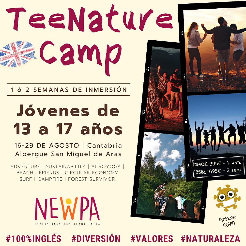 Campamento para adolescentes